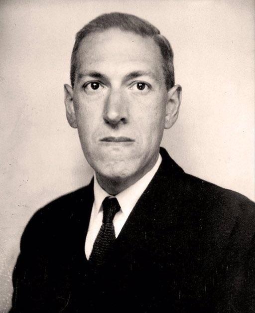 H. P. Lovecraft, retrato de Junio de 1934 por Lucius B. Truesdell
