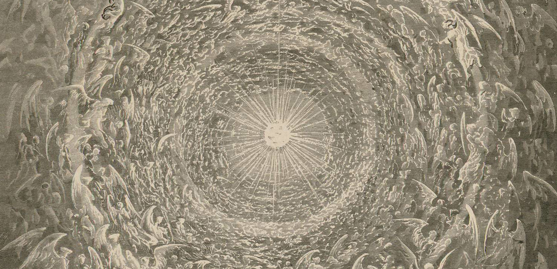 Besarilia - X Congreso - Gustave Doré, grabado para la Divina Comedia, Paraíso, Tomo II - Ed. española Museo del Romanticismo